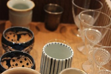 <p>Order sake and then select your sake cup. All are stylish designs</p>