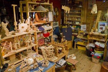 <p>The shop</p>