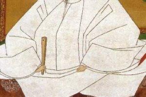 Portrait of Toyotomi Hideyoshi by Kano Mitsunobu, the famous Japanese painter