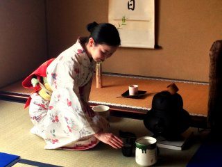 A dance with the ways of tea in Kyoto