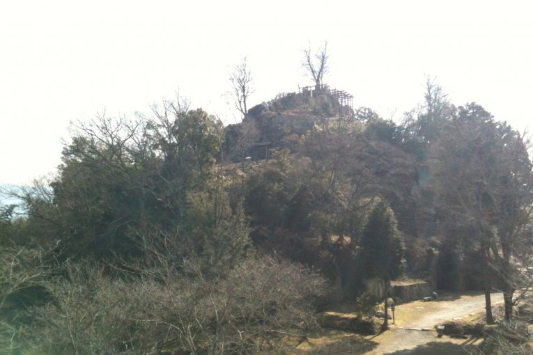 Naegi Castle Ruins