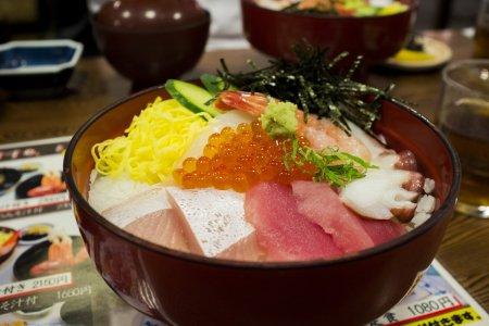 Seafood di Tojinbo