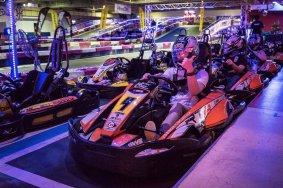 Go-karts en interiores en Harbor Circuit