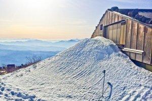 A mountain hut beyond 'Kyu-go-me' area