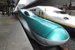 Hayabusa Shinkansen รถไฟที่เร็วที่สุดในญี่ปุ่น 320 กิโลเมตรต่อชั่วโมง