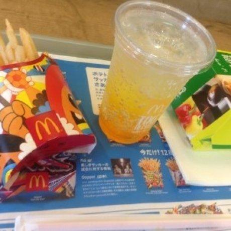 일본 맥도날드 - 월드컵 기간한정 메뉴
