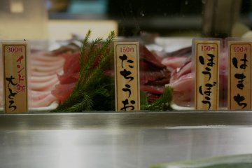 <p>The selection of fresh fish and its affordable prices.&nbsp;</p>