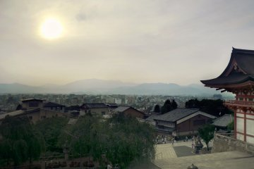 <p>An outstanding view on Kyoto from&nbsp;Kiyomizu-dera, the world famous temple in Higashiyama.</p>