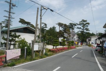 <p>The way from the station to the beach!</p>