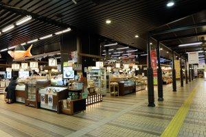 ร้านรวงภายในEchigoyuzawa Station
