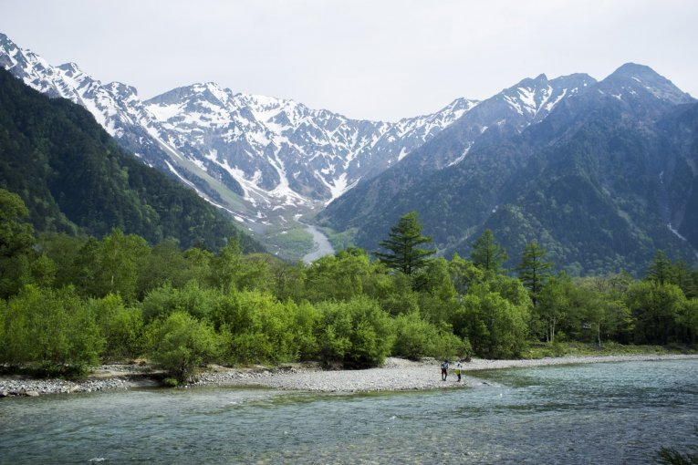 Among the Mountains of Kamikōchi