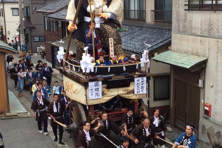 福井「三国祭」