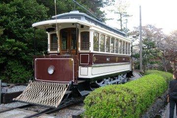 <p>Working Kyoto street car from the Meiji era</p>