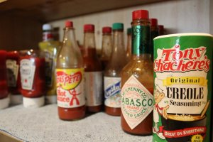 All the condiments you need to dress your bbq, red beans & rice and more!
