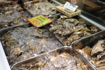 <p>Oysters from Kitsunezaki, a fishing village in&nbsp;Ojika Peninsula</p>