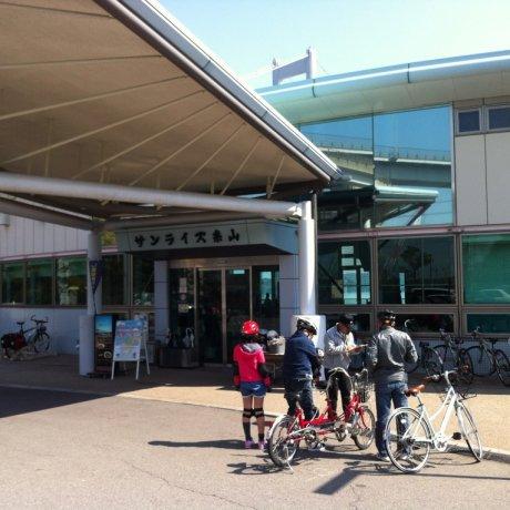 ปั่นจักรยานที่ ชิมะนะมิ ไคโดะ