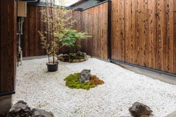 Roujiya and its annexe Bifuku are on a traditional Kyoto laneway near Nijo Castle