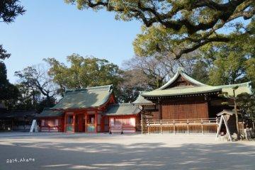 博多早晨散策:住吉神社