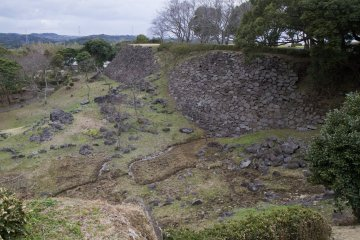 Nagoya Castle Ruins in Saga