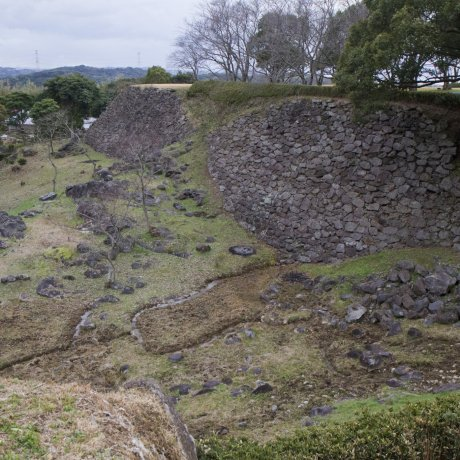 Nagoya Castle Ruins in Saga