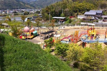 Jinzan Park (2) in Kochi Prefecture is great for families travelling with kids.
