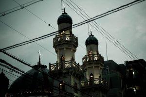 Le superbe minaret