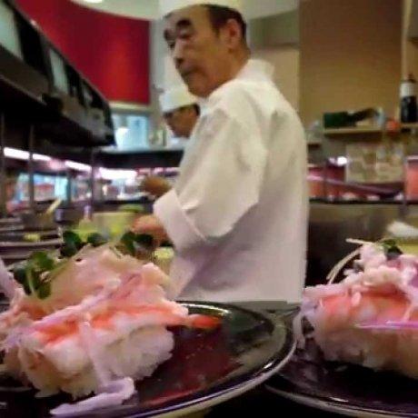 Restaurant de Sushi à Ueno
