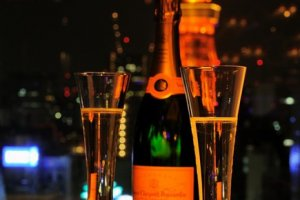 Champagne and Tokyo Tower