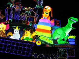 Tokyo Disneyland's Electrical Parade: Toy Story