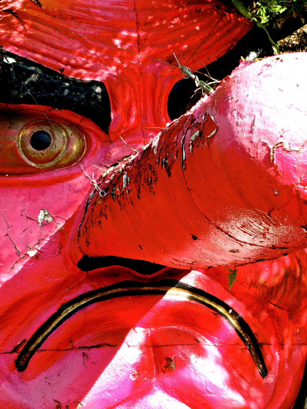 Red-nosed Tengu goblin