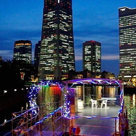 Cảnh đêm Yokohama