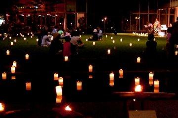 La Nuit des Bougies à Matsumoto