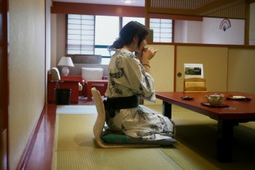 <p>You can have some tea in your room, a teapot with excellent green tea will be left near your table.&nbsp;</p>