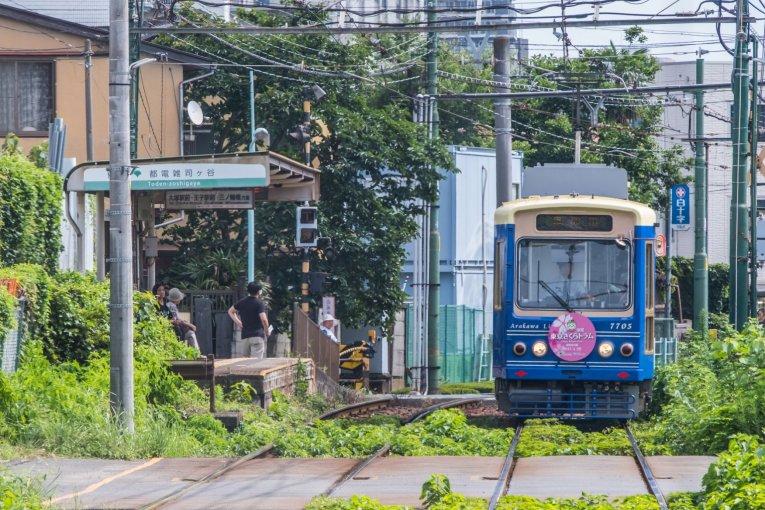 Jalur Toden Arakawa, Tokyo