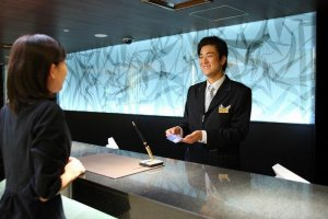 Hospitality starts with care at the front desk