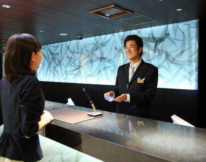 <p>Hospitality starts with care at the front desk</p>