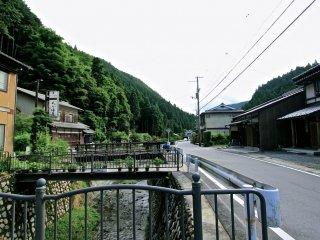 ...เมืองคุรามะออนเซน(Kurama Onsen) ในหน้าร้อน...