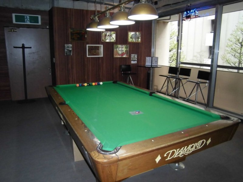 Pool Tables Are Always Available
