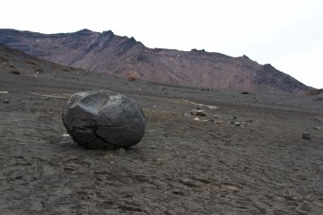 <p>The volcanic desert. It looks like being on the Mars, doesn&#39;t it?</p>