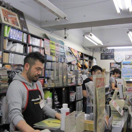 Record Shopping in Yokohama