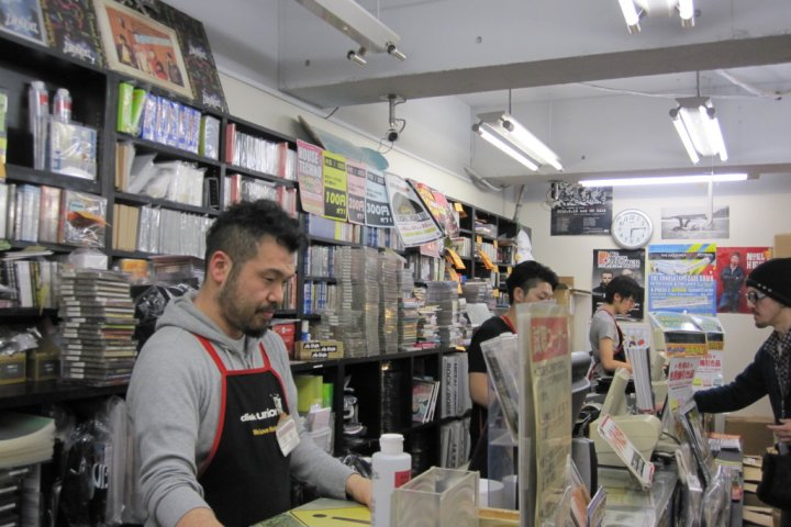 Record Shopping in Yokohama
