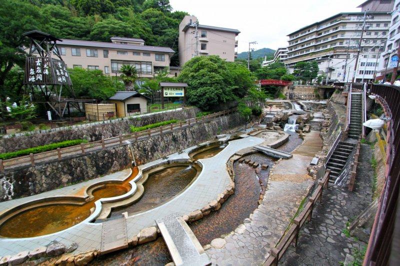 <p>หมู่บ้านอาริมะออนเซน(Arima Onsen)</p>
