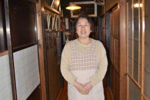 Mayumi San,our kind host