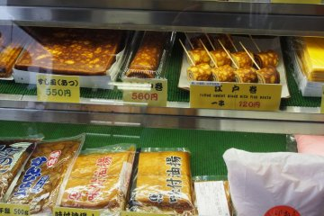 <p>If the cues are very long, perhaps grab a rolled omelet while you&rsquo;re waiting</p>