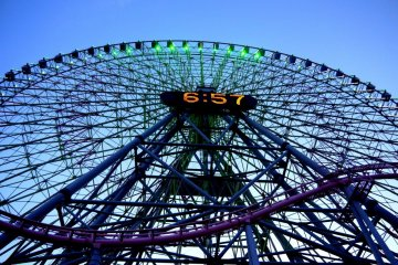 横浜の大観覧車
