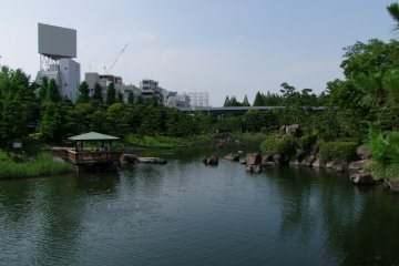 <p>Open spaces to enjoy in central Tokyo</p>