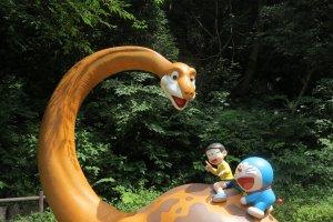 野比的恐龙中的经典场景