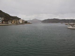 Hải cảng tự nhiên rộng lớn của Yobuko