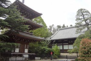 Pagoda and main hall.
