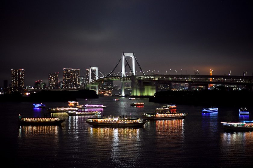 A view from Odaiba Island